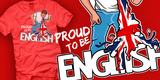 Tee Off - Proud to be English!
