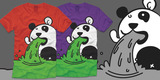 TEE OFF: Panda Puke
