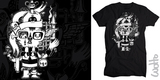 Limited Edition Wotto Tee No.3 - Skullhead