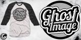 """""""Ghost Image"""" Raglan Tee"""