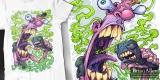 Bad Breath T-Shirt Design