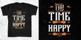 the time to be happy