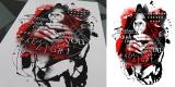 digital trash - sometimes darkness show you the light (artwork for sale)