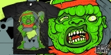 TOXIE THE GROUCH - ART FOR SALE