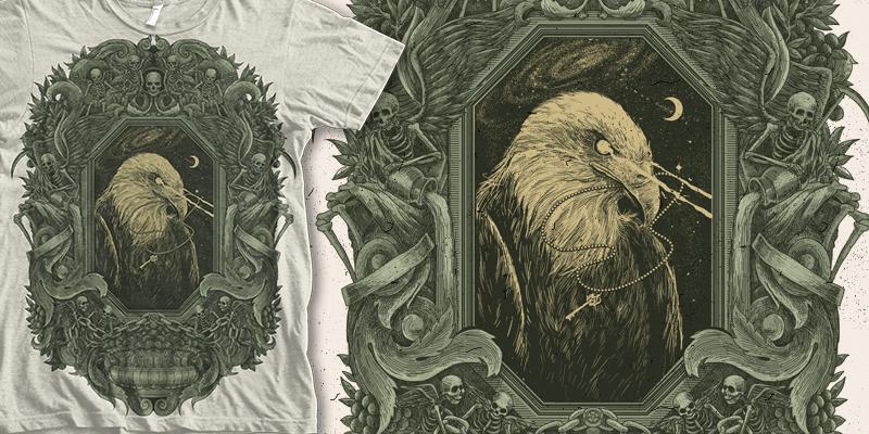 THE PRINCE - T-shirt design by TONY MIDI - Mintees