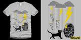 Black Cat Thunderstorm - SOLD