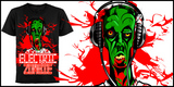 Headphones Electric Zombie