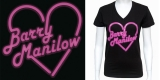 Barry Manilow neon heart