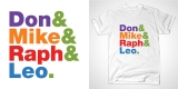 Don & Mike & Raph & Leo