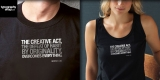 """George Lois' """"The Creative Act"""" t-shirt"""