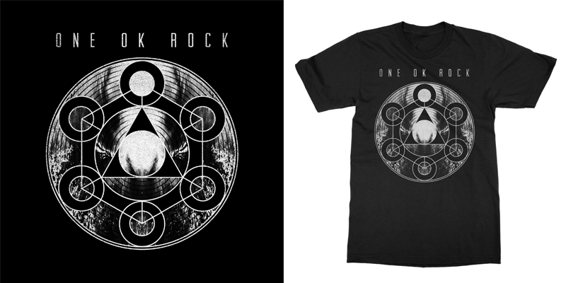 One Ok Rock Symbols T Shirt Design By Bsteczdesigns Mintees