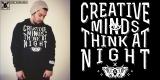 Creative Minds Think at Night