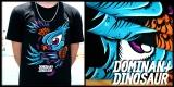 DominantDinosaur: Bird Print tee