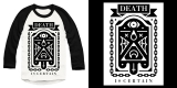 Death Is Certain Baseball Longsleeve