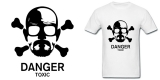 Breaking Bad White Adult Standard Weight T-shirt
