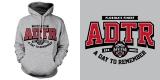 ADTR - Wolf college hoodie