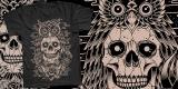 Skull X Owl