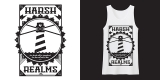 Harsh Realms - Lighthouse - Tank Top