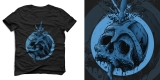 Crush - SKULL T-SHIRT DESIGN FOR SALE
