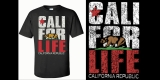CALI FOR LIFE T-shirts California T shirts Cali life t graphic tee bear design