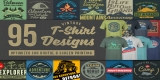 95 T-Shirt Designs Mega Bundle