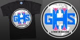 Black Get Hi!p Society logo Tee