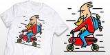 Ride a motocompo